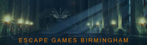 Birmingham Escape games website banner