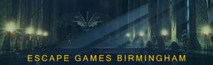 Escape Games Birmingham Banner